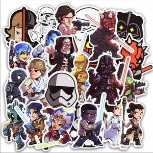 Other - 50Pcs New Random Star Wars Custom Stickers
